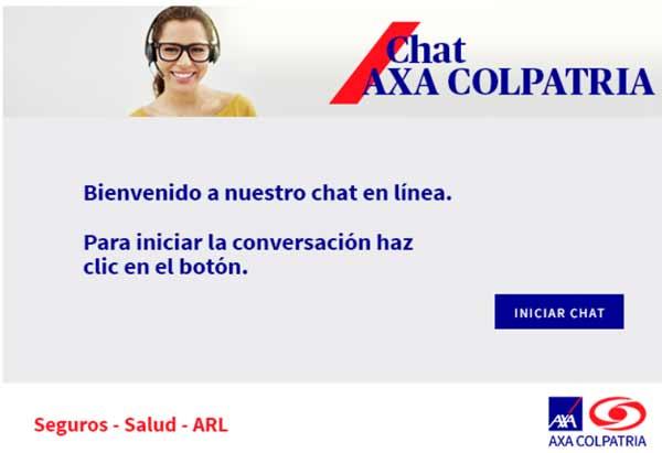 axa colpatria chat virtual