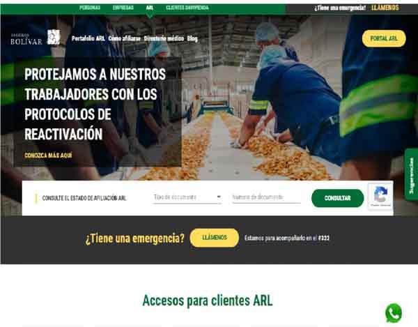 consulta afiliación bolivar