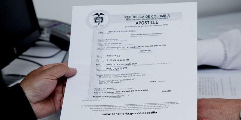 antecedentes judiciales certificado