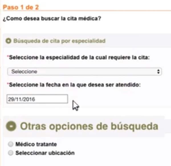 compensar citas medicas en linea