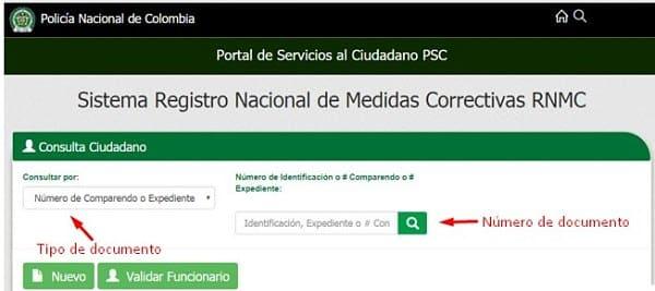 medidas correctivas certificado