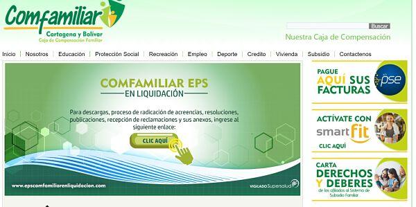 certificado de afiliación comfamiliar Cartagena